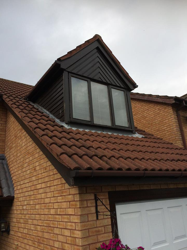 PVCu Dormer Window & Cladding North Wales - Trade Frames UPVC
