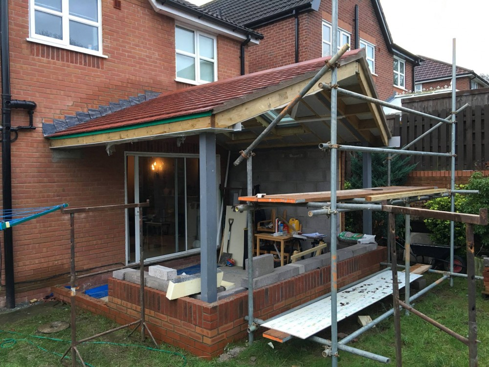 Solid Roof Conservatory Colwyn Bay North Wales Trade